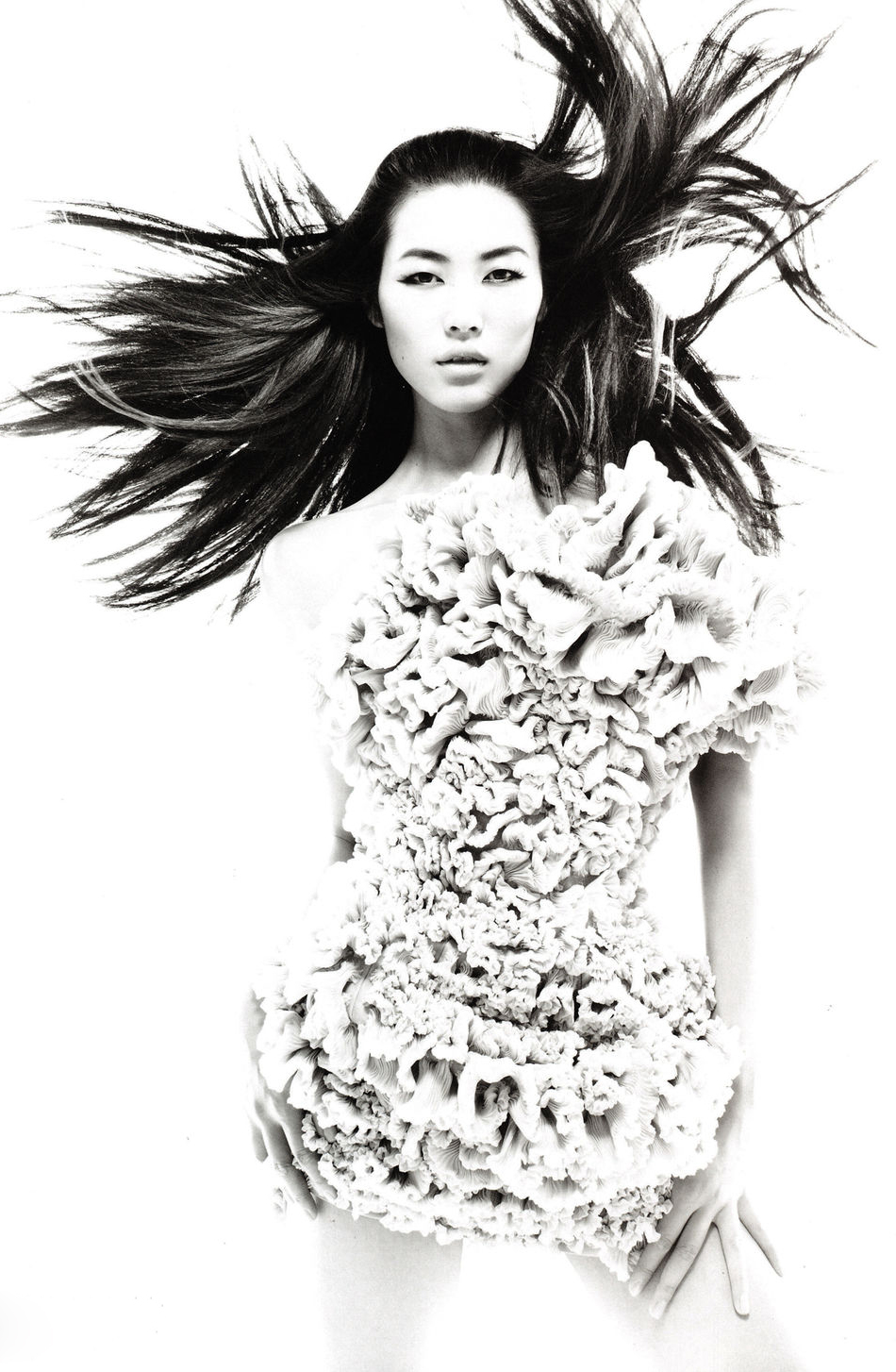 Numero #1 China September 2010 (photography: Tiziano Magni; styling: Joseph Carle)