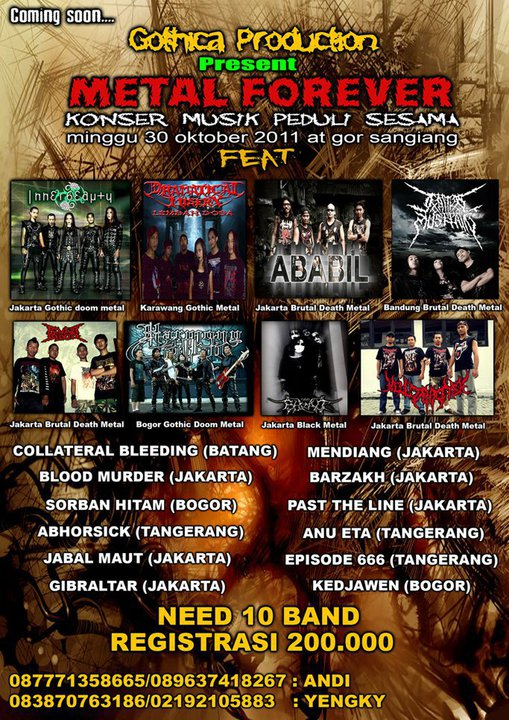 Gothica Production Present : Metal Forever