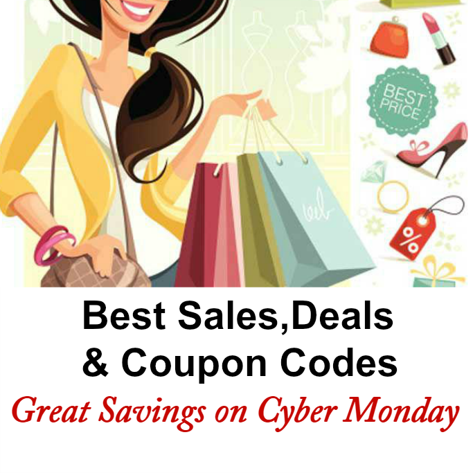 #CyberMonday sales, Best Sales on Cyber Monday, Coupon Codes For Cyber Monday, Cyber Monday Gifts Sale