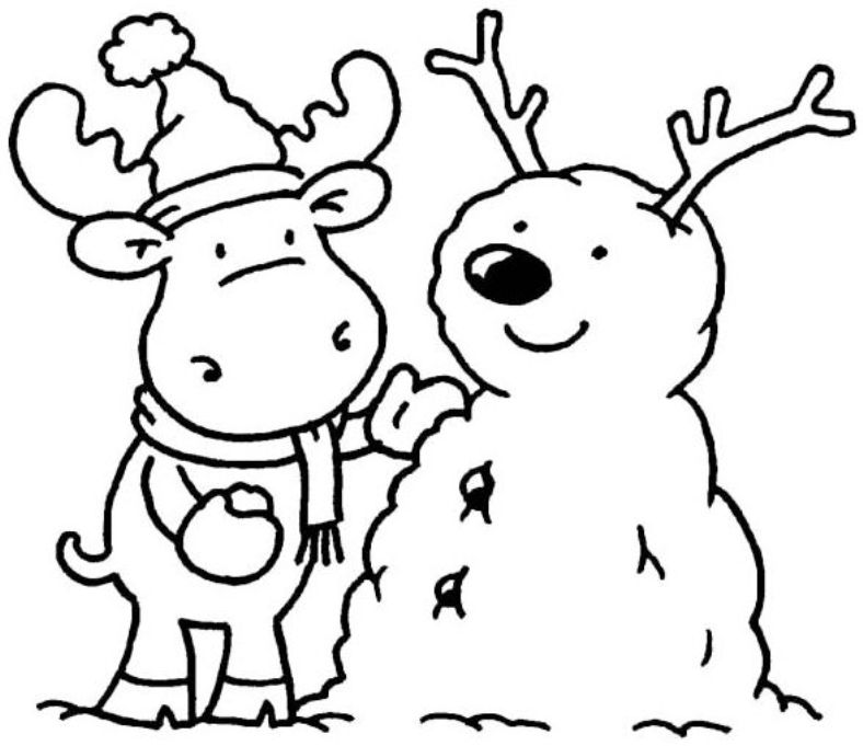 Wild image with regard to free winter coloring pages printable