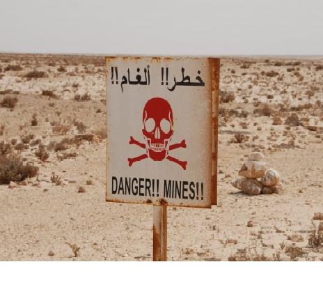 Las minas terrestres contnúan cobrándose más víctimas en el Sáhara Occidental