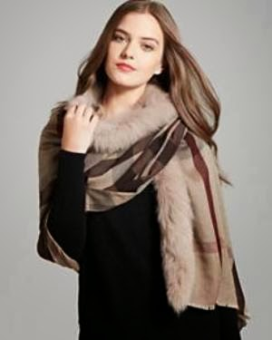 Shop Burberry Wrap @ Bloomingdales