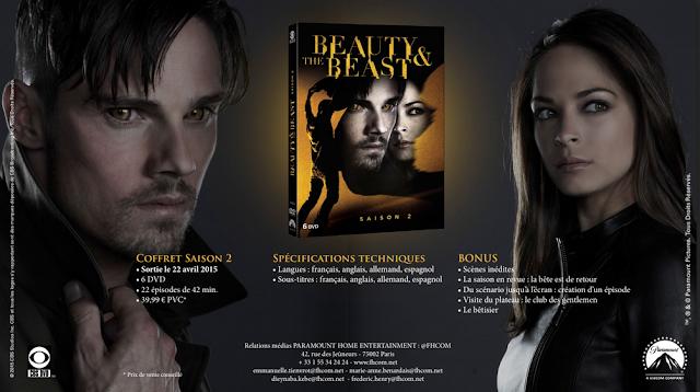 Beauty and the Beast : la saison 2 en DVD