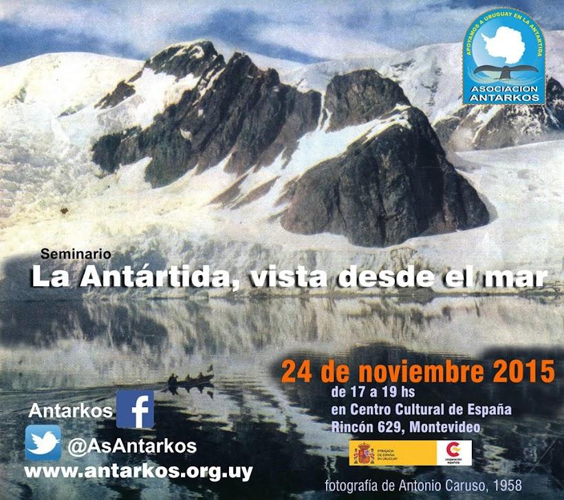 """Seminario """"La Antártida vista desde el mar"""" - 24-11-2015"""