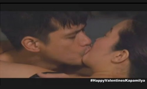 Robin Padilla - Kris Aquino kiss