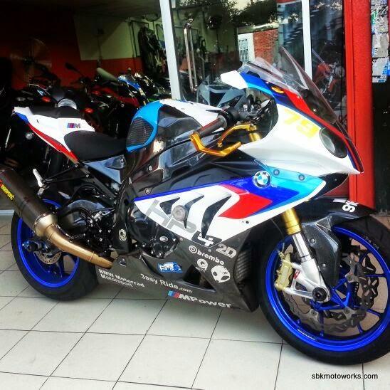 Sbk Motoworks S1000rr With Bmw Motogp Safety Bike Fairing