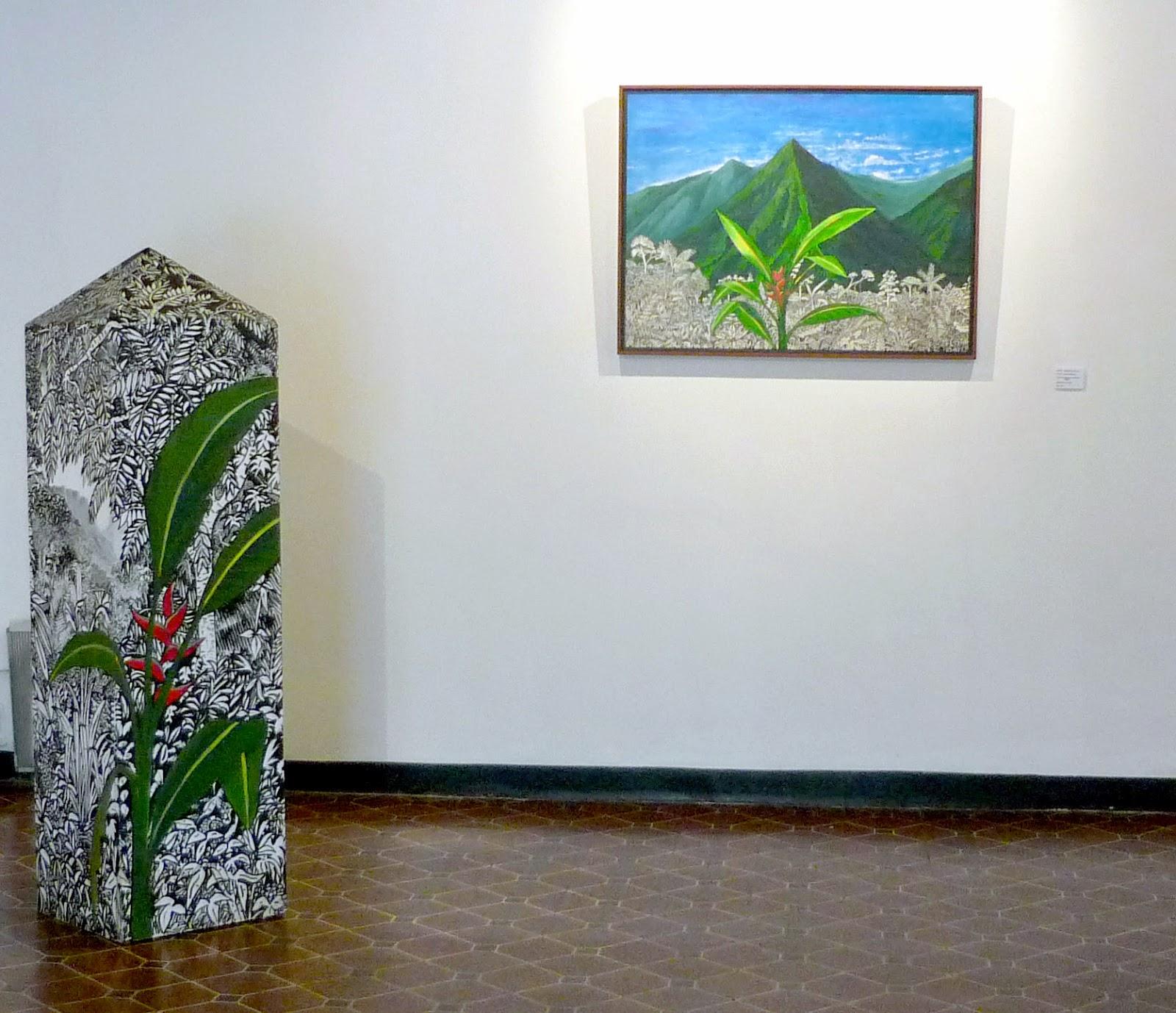 """Antonio Castillo, """"Selva Domada"""", pintura, 93x 68 cm"""