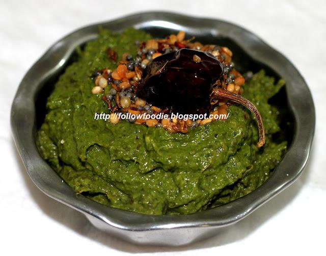 Mint Chutney / Pudhina thogayal / Mint Dip / Pudina chutney