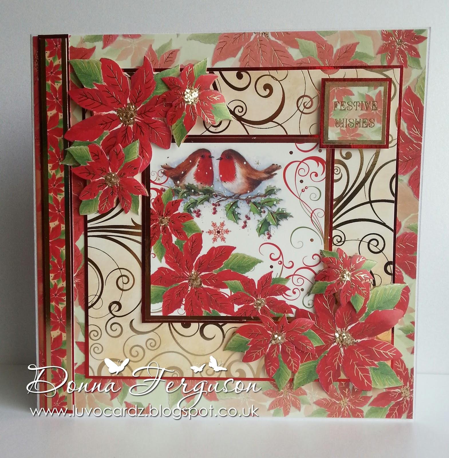 Handmade With Love in N.I.: Hunkydory Traditional Christmas Sneak Peaks