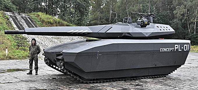 Scale Model News Stealth Tank Pl 01 Invisible Defender