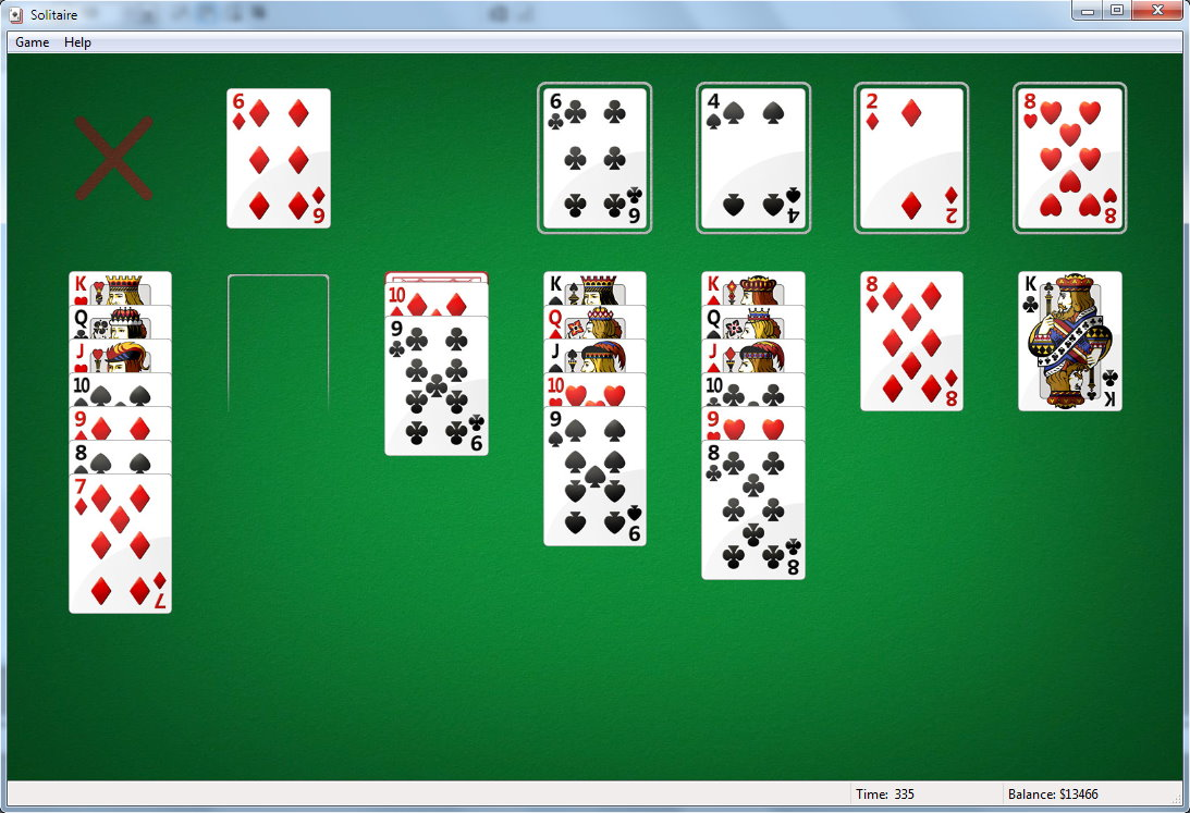 solitaire standard