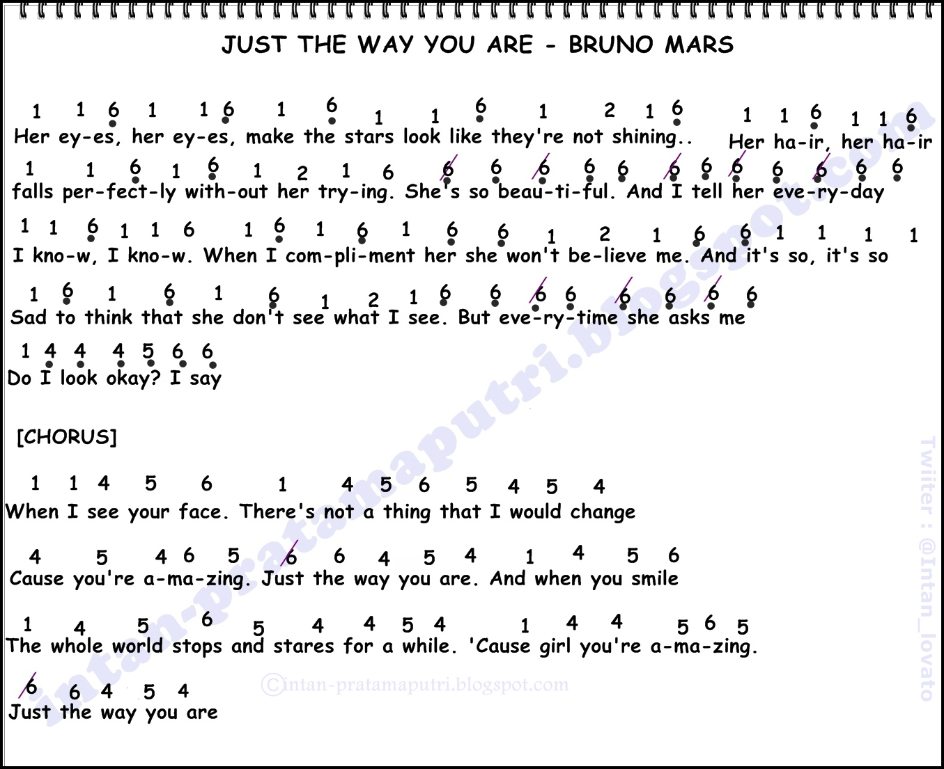 Love you till the end guitar chords