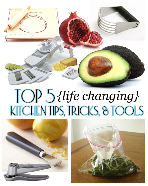 Scribbles & Dabbles: Top 5 (Life Changing) Kitchen Tips, Tricks, & Tools