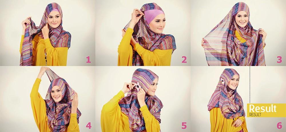 Tutorial hijab pasmina modis