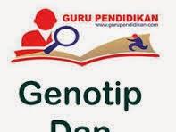 Definisi Pengertian Genotip dan Fenotip