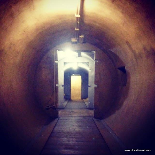 Mussolini's bunker, villa torlonia, rome, italy