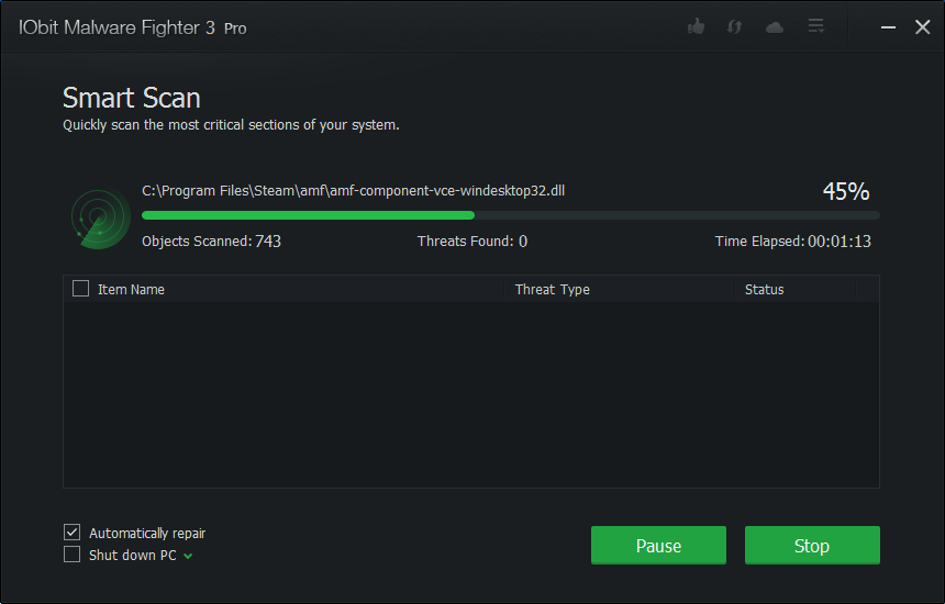 IObit Malware Fighter Pro 3.0.2.25 Full Version Serial Number