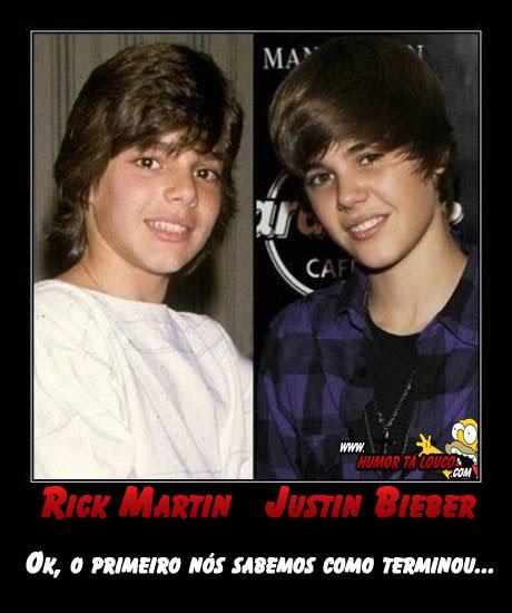 Motivacional: Rick Martin o Futuro de Justin Bieber...'