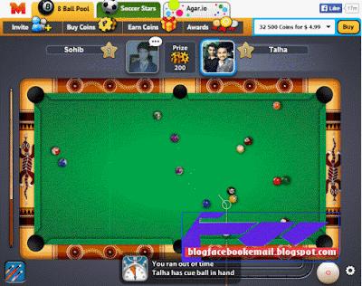 Game Online Facebook Terbaik  Bikin Ketagihan 8 ball pool