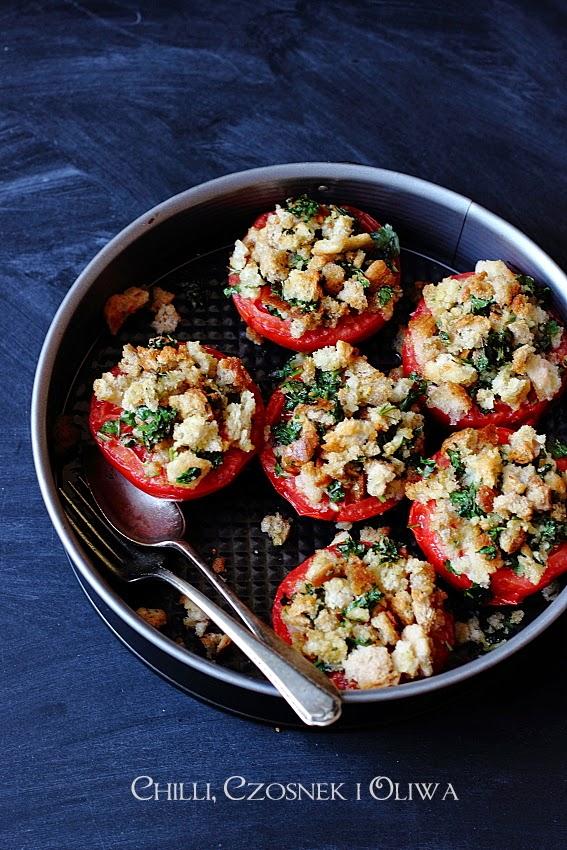pieczone pomidory w piekarniku