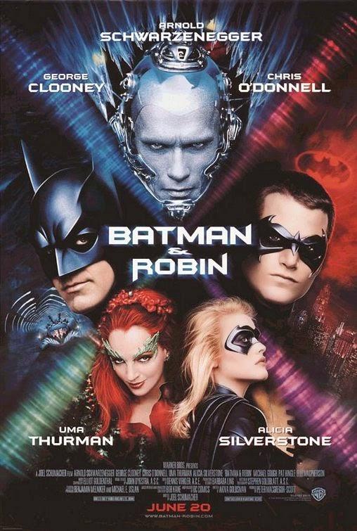 1997 Batman and Robin movie poster