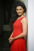 Saiyami Kher Hot in Red at Rey Trailer launch-thumbnail-1