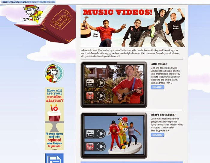 The Importance Of Recess Two Videos >> Nfpa Music Videos Teach Kids About Fire Safety Ehs Works