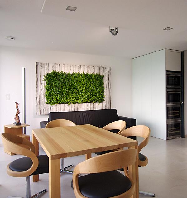 salas con jardines verticales ideas para decorar