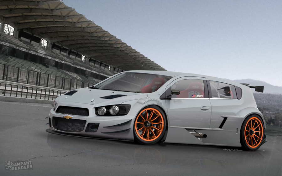 Sonictuners blogspot com grand am inspired chevy sonic race car rendering