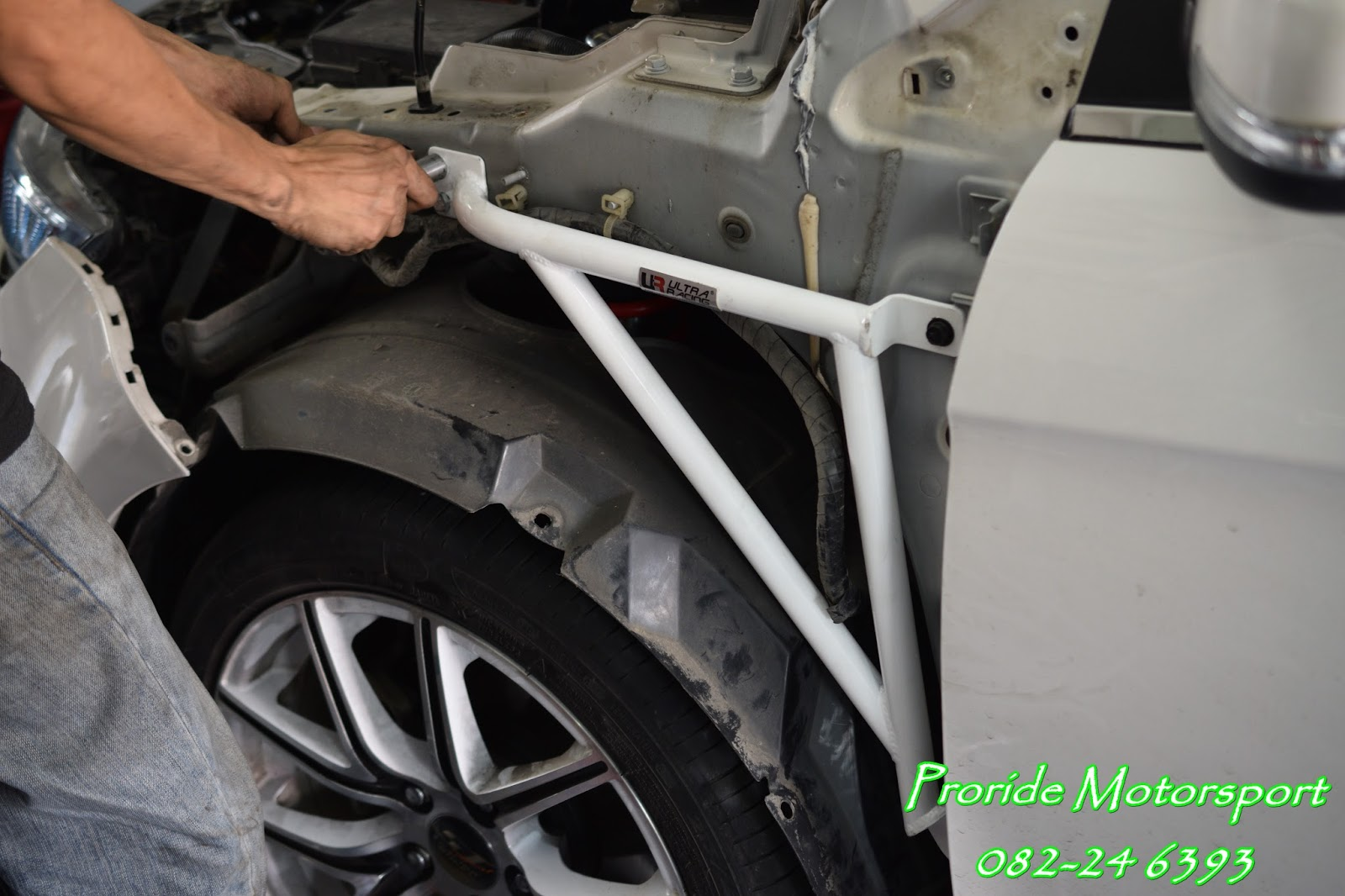 Pro-ride Motorsports: UR Ultra Racing SAFETY Bar for Proton Preve