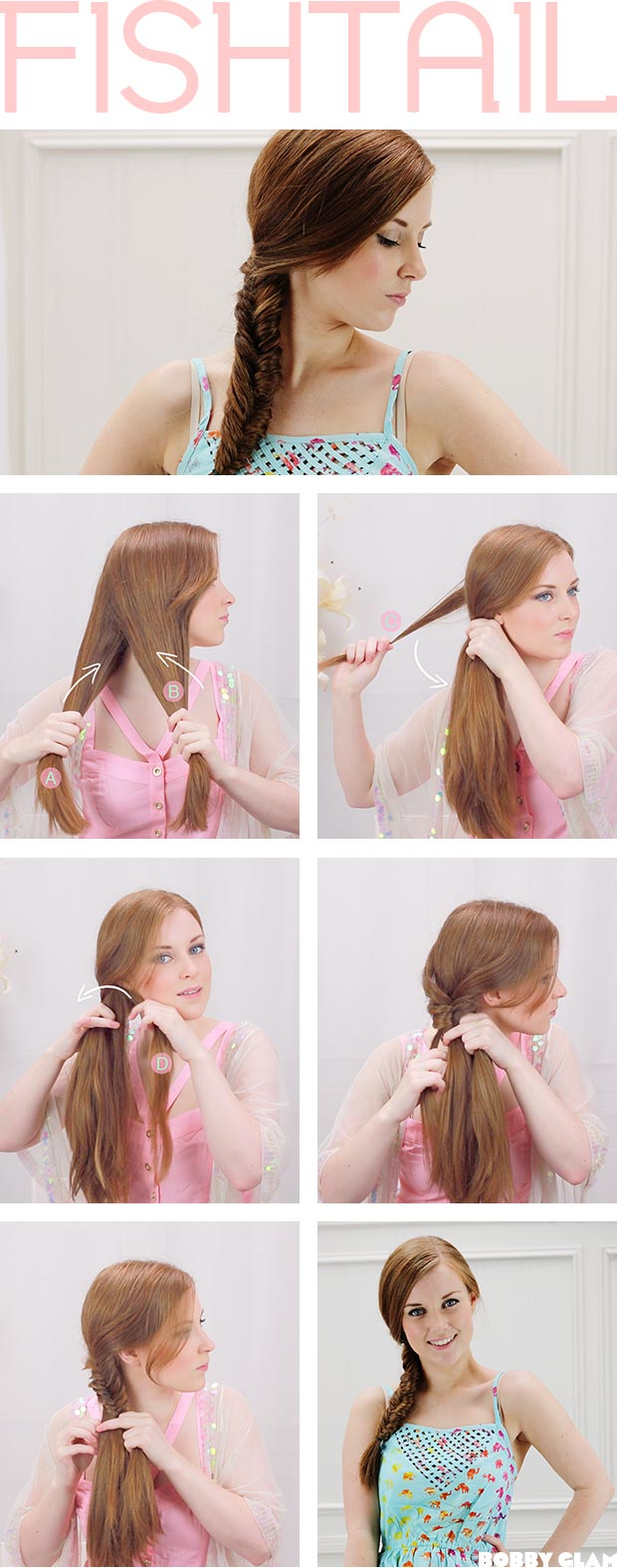fishtail braid tutorial - photo #2