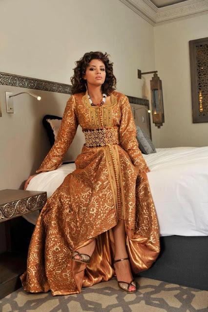Entdecken Sie das beste Modell und Designs von marokkanischen Kaftan