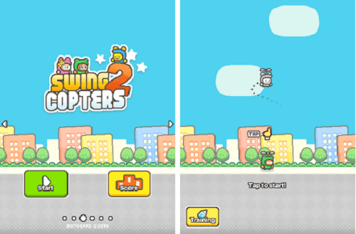 Download Swing Copters 2 Apk