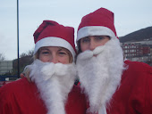 BHF Santa Jog with Clare x