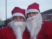 BHF Santa Jog with Clare x