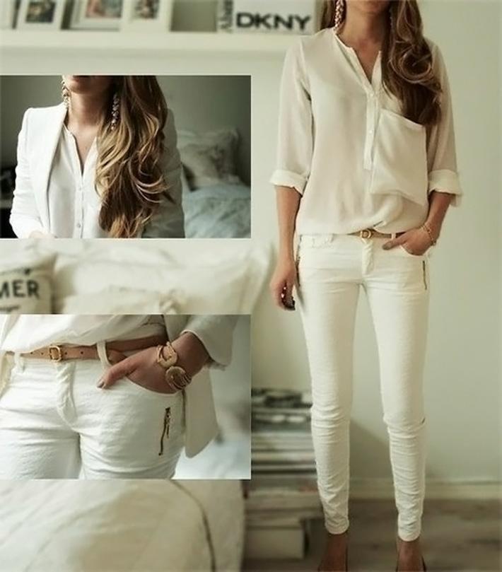 Cuidados básicos para escolher sua calça jeans branca