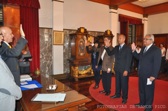 Acto de juramentación de nuevas autoridades para dependencias del Rectorado y Secretaría de la ULA (Foto Ramón Pico)