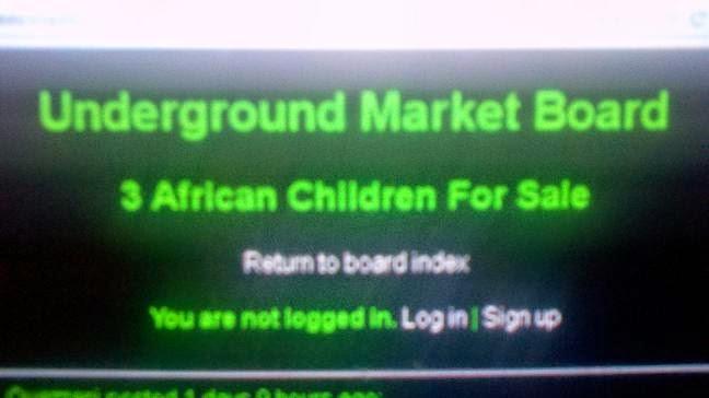 Mercado infantil