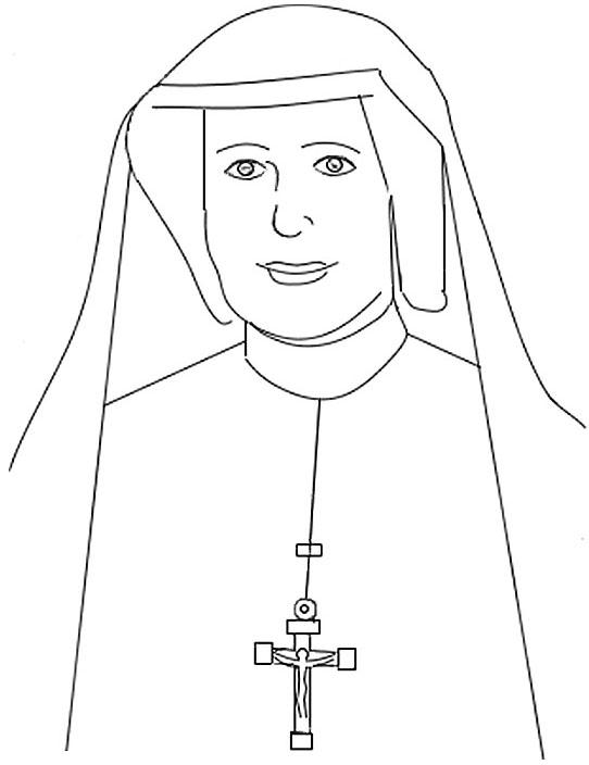 Faustina dibujo