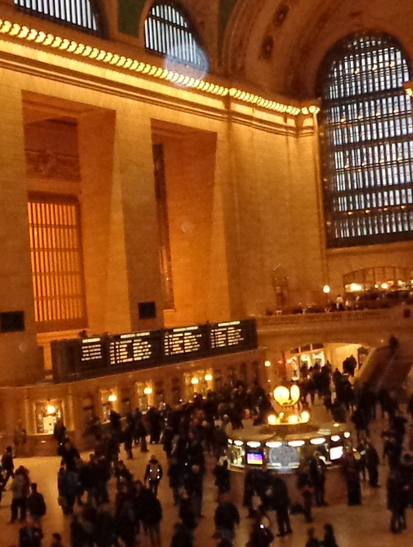 orb in Grand Central Station