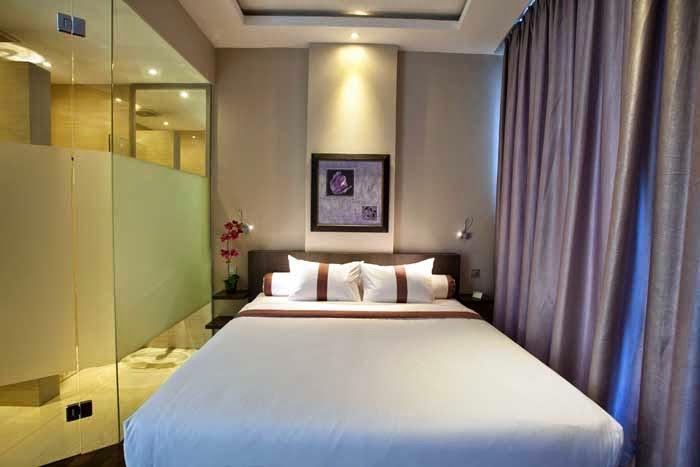 Desain kamar tidur hotel 5