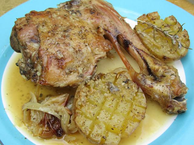 Cordero asado con patatas Thermomix de Ana Sevilla