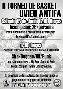 II TORNEO BASKET 3x3 UVIU ANTIFA