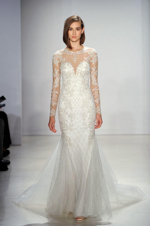 Kenneth Pool Fall 2015 Wedding Dresses