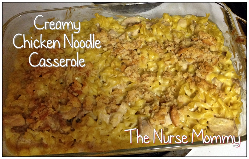 Tasty Thursday: Country Crock Creamy Chicken Noodle Casserole