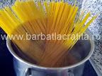 Spaghete cu sos de ciuperci preparare reteta