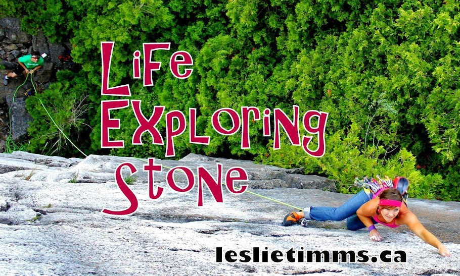 Leslie Timms | Certified Female Climbing Guide in Ontario, Canada