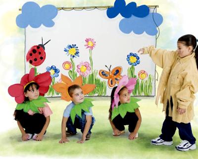 dramatização para a primavera para educação infantil