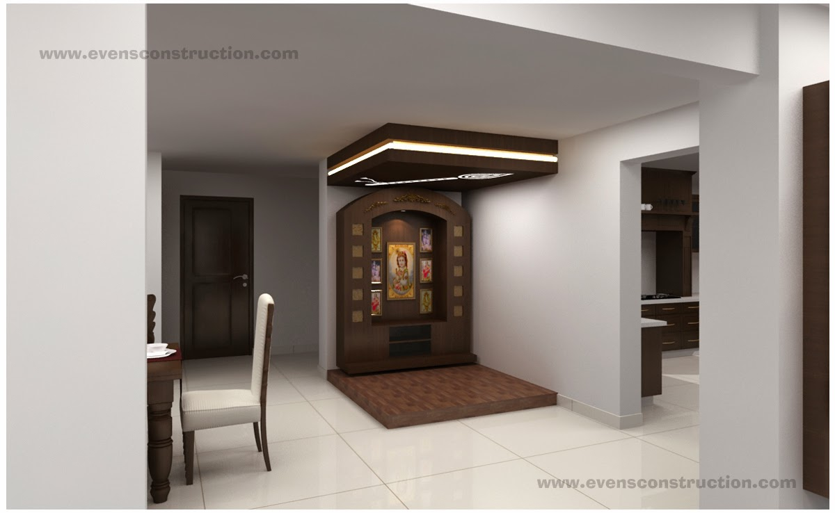 Evens construction pvt ltd puja room and vasthu for In house designer