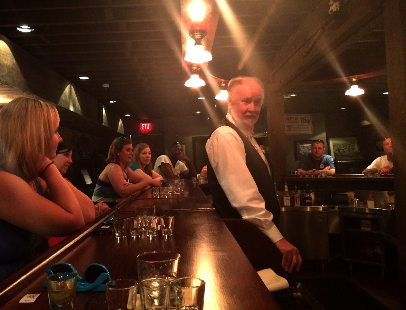 cozy birdhouse   evan williams experience for julie's bachelorette party